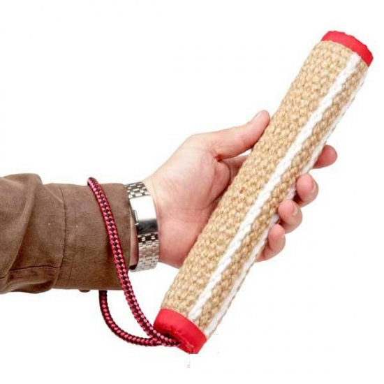 Jute Bite Roll with Rope Handle
