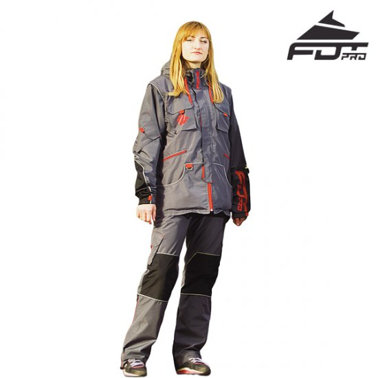 "FDT Pro ""Dress'n'Go"" Any Weather Waterproof Tracksuit for Outdoor Activities - Click Image to Close"