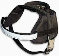 Reflective NYLON DOG HARNESS, All Weather Harness for Great Dane