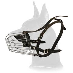 Perfect for all seasons wire basket muzzle