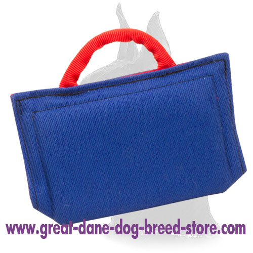 French Linen Dog Bite Sleeve for Young Dogs and Puppies Training