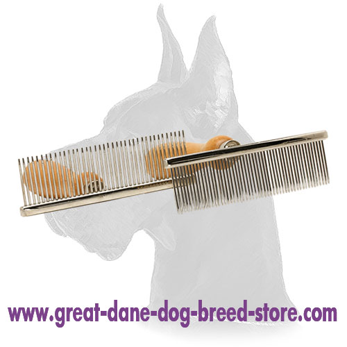 Great Dane Brush with Wooden Handle