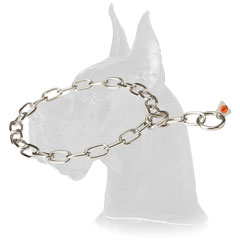HS Chain Collar Made of Stainless Steel