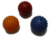 Rubber Squeaky Ball Dog Toy 2 1/3 inch (6 cm) for Great Dane