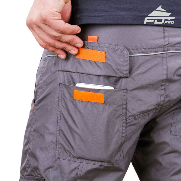 Comfy Design FDT Pro Pants with Durable Back Pockets for Dog Training