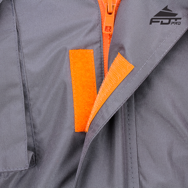Durable Velcro on Dog Tracking Jacket for Everyday Use