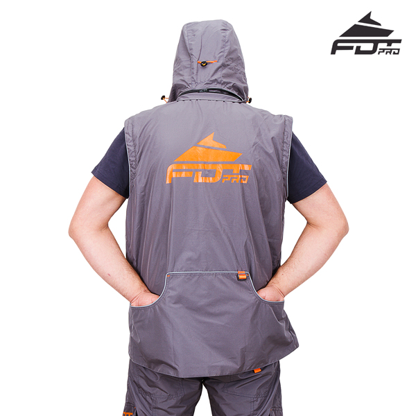 Strong Dog Tracking Suit of Grey Color from FDT Pro Wear
