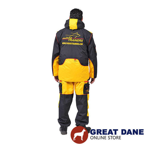 Membrane Fabric Training Bite Suit with Several Pockets
