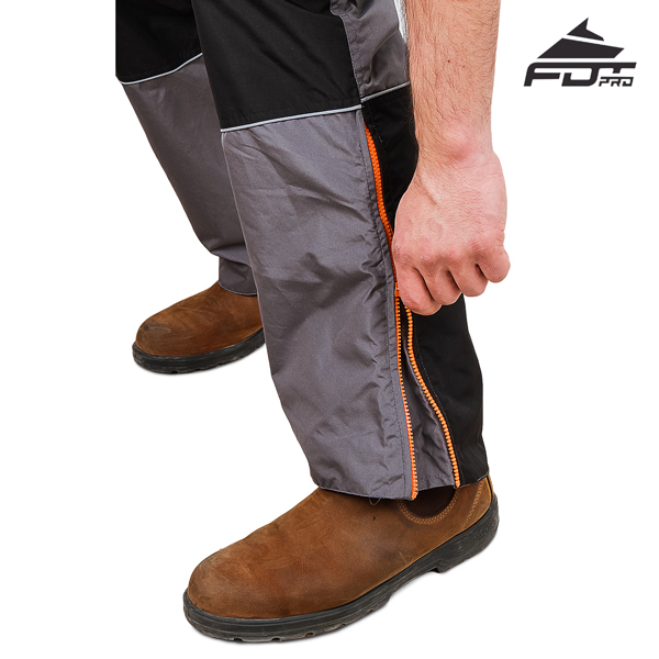 FDT Professional Design Pants with Best quality Zippers for Dog Tracking