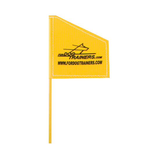 Dog Training Flag light in weight and optional