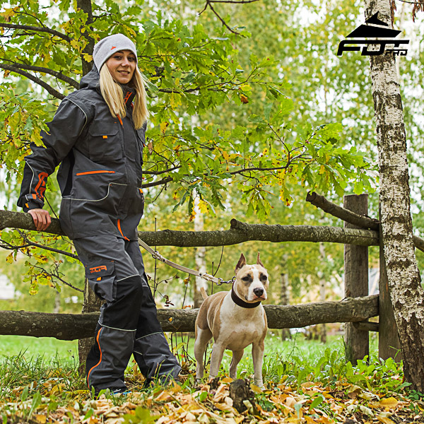 Unisex Design Pants with Convenient Back Pockets for Active Dog Trainers