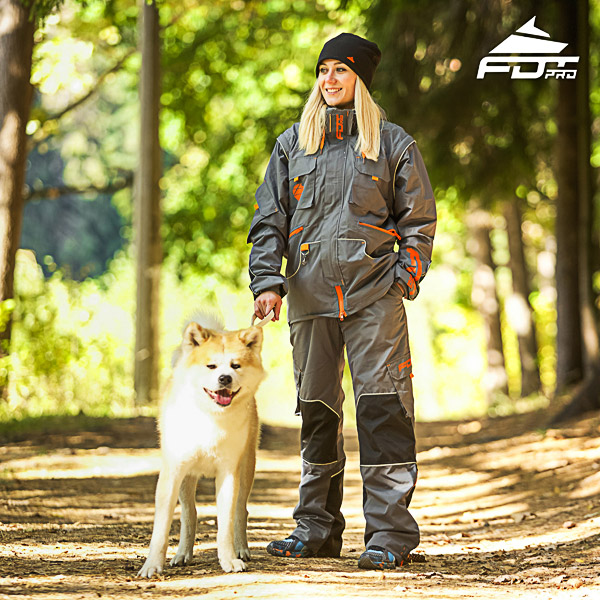 Men / Women Design Dog Trainer Jacket of Best Quality Materials
