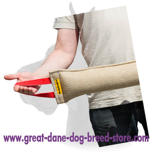 Jute Great Dane Bite Tug for Training of Grown Up Dogs