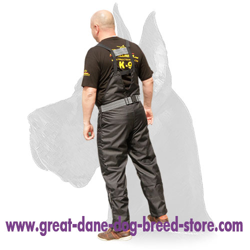Scratch pants for agitation work