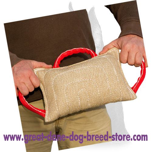 upgraded dog bite pillow for training your great dane te7 1031 dog
