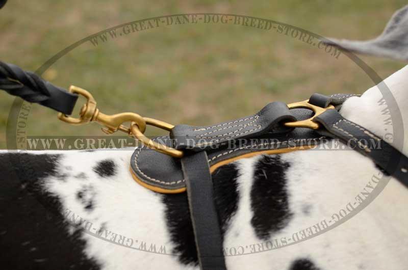 unique great dane dog leather harness non toxic great dane