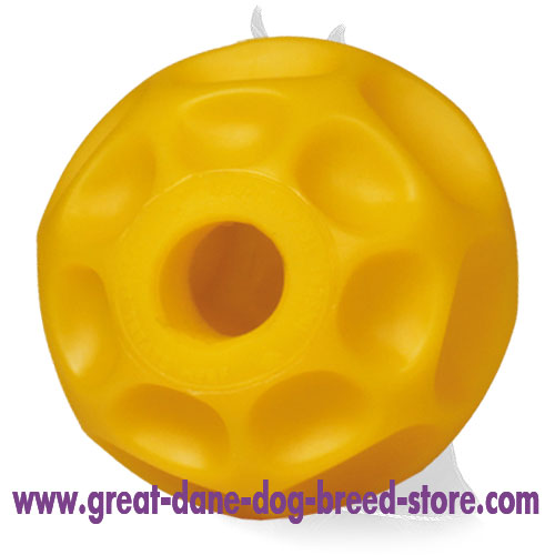 """Burden-off"" Tetraflex Chew Ball - Treat Dispenser Medium Size - 4 inch (10cm)"