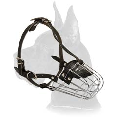 Muzzle with rust proof cage